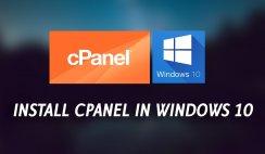 Free CPanel Hosting Windows 10