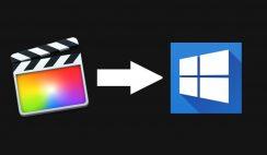 Install Final Cut Pro on Windows 10