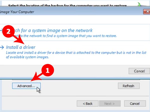 Install a driver