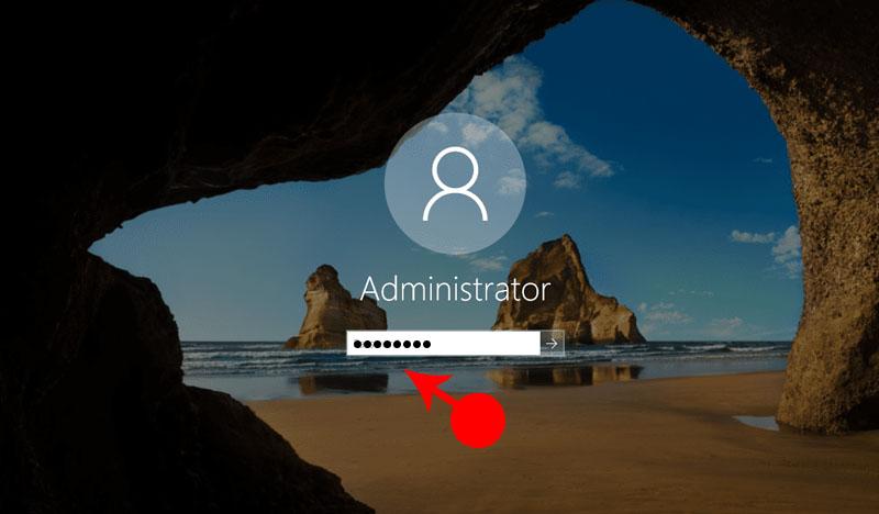 Reset Forgotten Password in Windows 10