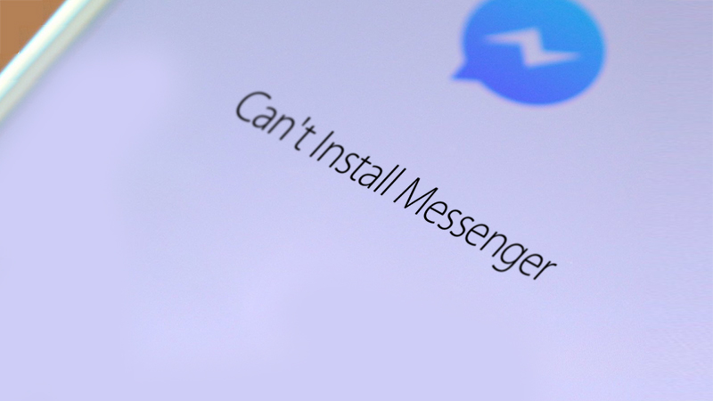 Can't Install Messenger on Android