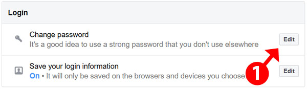 change password - web browser