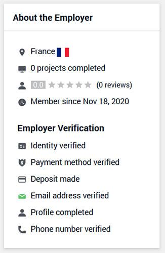 Employer Verification