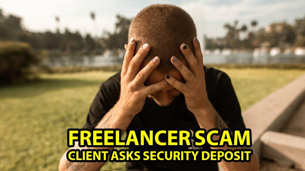 Refundable Security Deposit fee in Freelancer